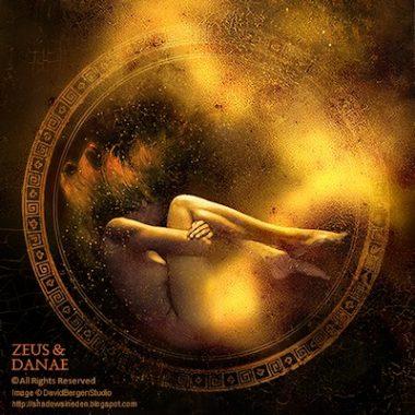 Lluvia dorada: El mito de Danae y Zeus